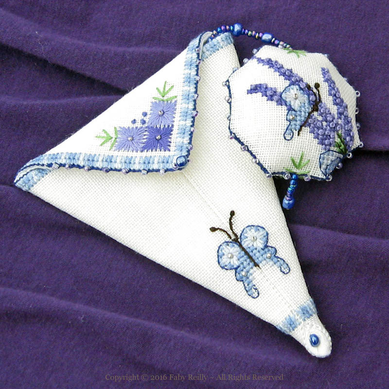 Lavender Scissor Case - Faby Reilly Designs