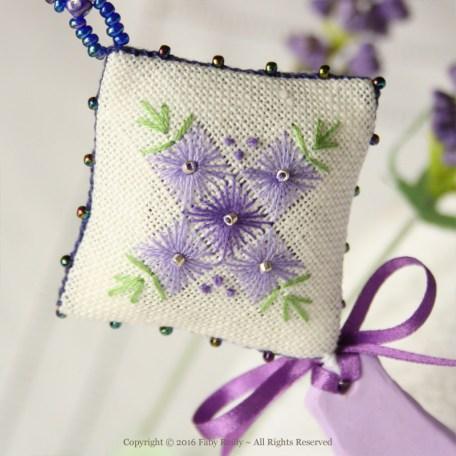 Lavender Sachet – Faby Reilly Designs