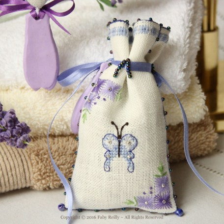Lavender Sachet – Faby Reilly Designs
