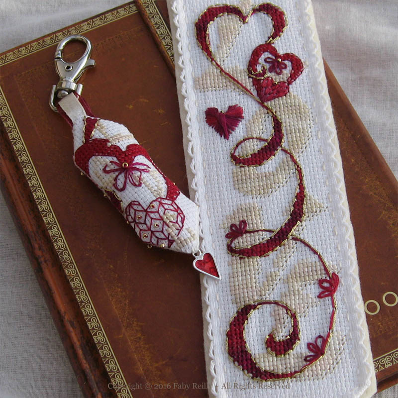 Love Bookmark – Faby Reilly Designs