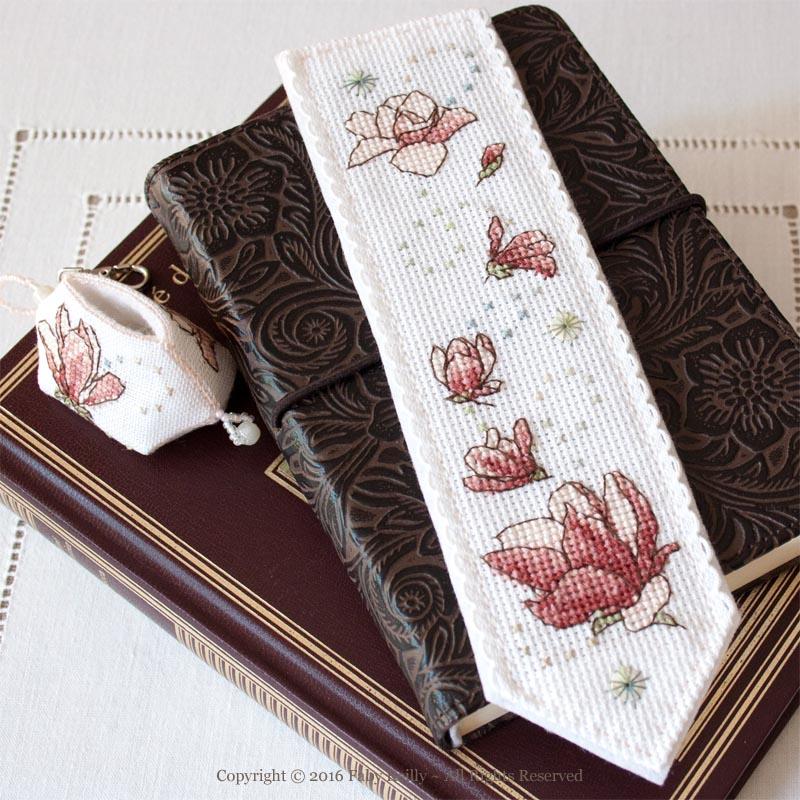 Magnolia Bookmark
