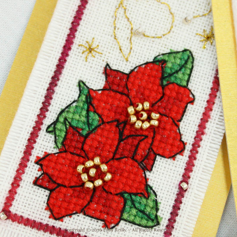 Christmas Tags (Floral Series)
