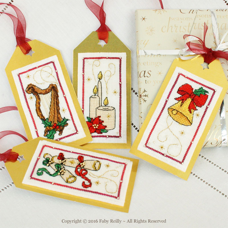 Christmas Tags (Lights and Music Series)
