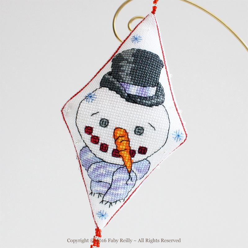 Sonny the Snowman Pendant