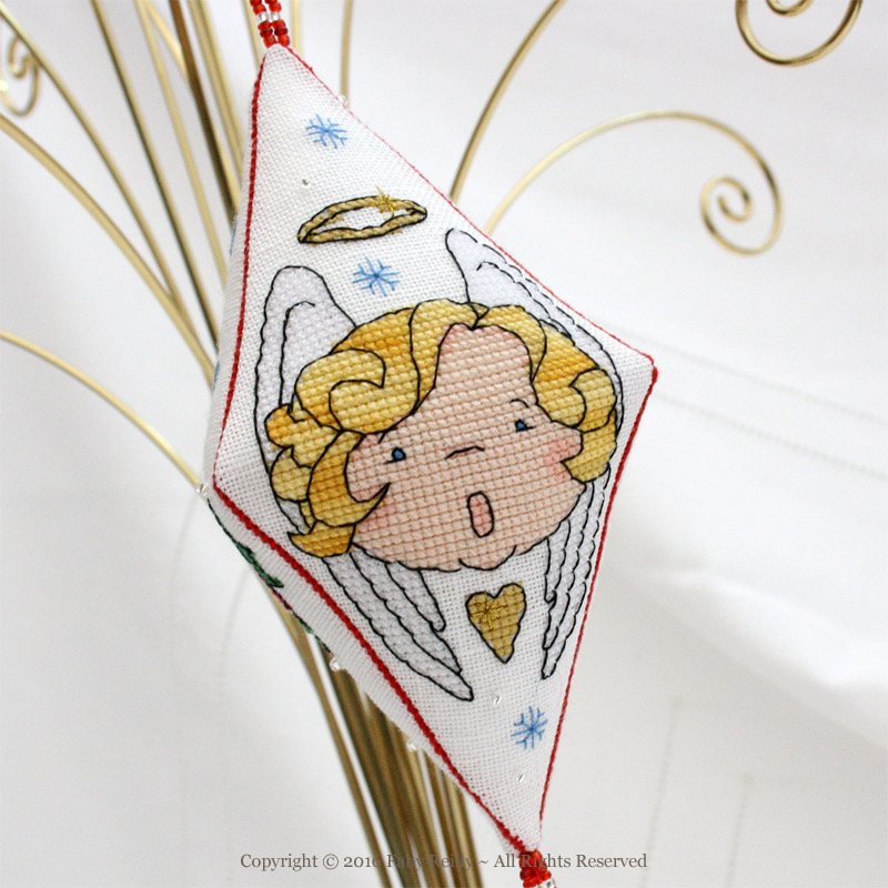 Aniel the Angel Pendant - Faby Reilly Designs