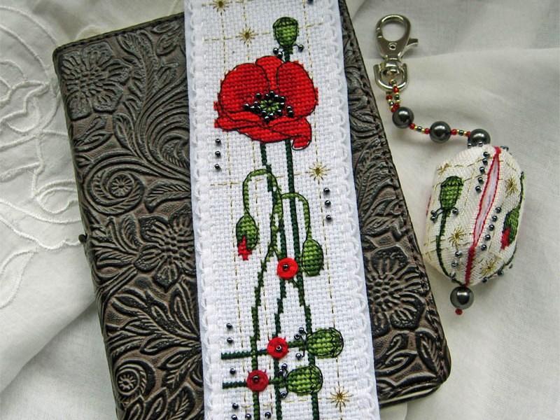 Poppy Bookmark