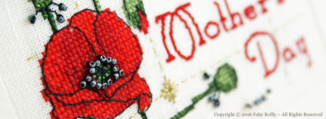 Poppy Card – Faby Reilly Designs