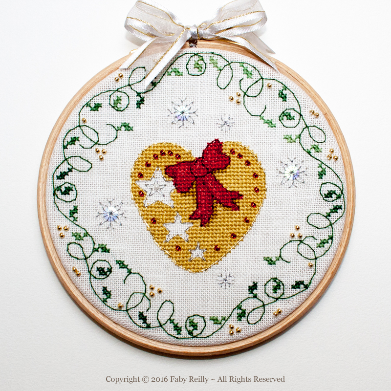 Heart Hoop - Faby Reilly Designs