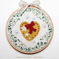 Heart Hoop - Faby Reilly Designs