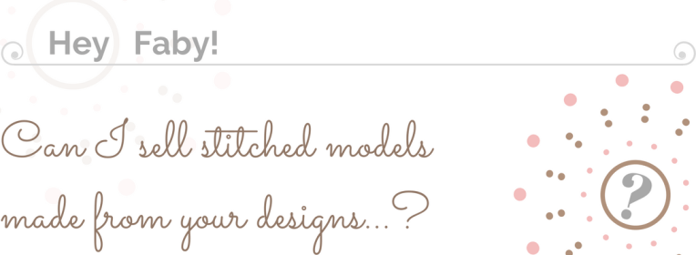 Selling of stitched models