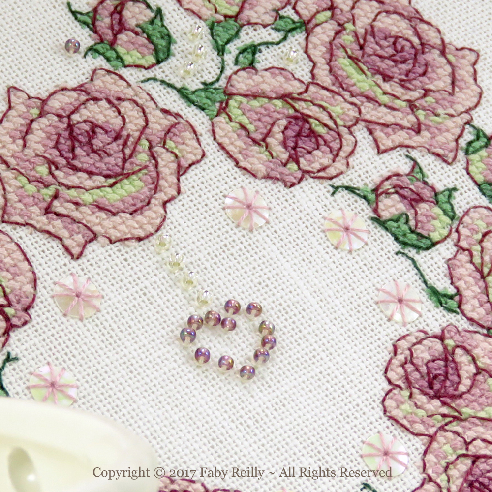 Once Upon a Rose Heart - Faby Reilly Designs