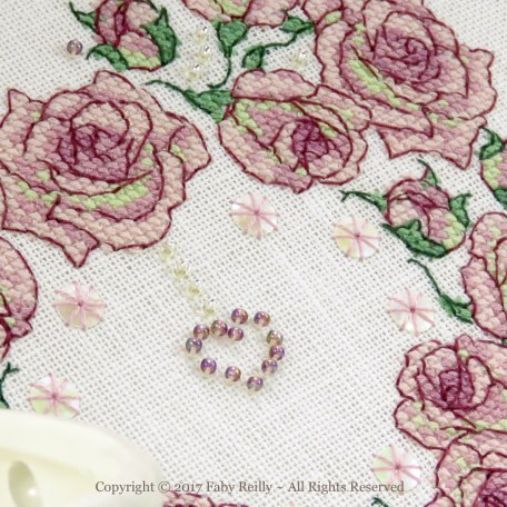 Once Upon a Rose Heart – Faby Reilly Designs