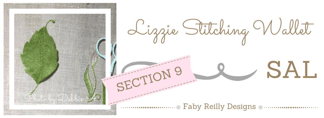 Section 9 - Lizzie Stitching Wallet SAL - Faby Reilly Designs