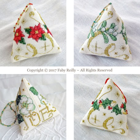 Sparkly Christmas Humbugs – Faby Reilly Designs