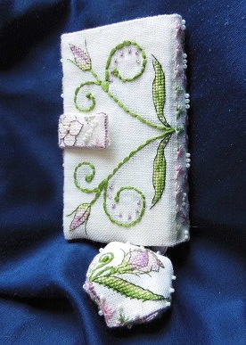 Lizzie Wallet - stitched by Ina