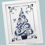 O Tannenbaum in Blue - Faby Reilly Designs