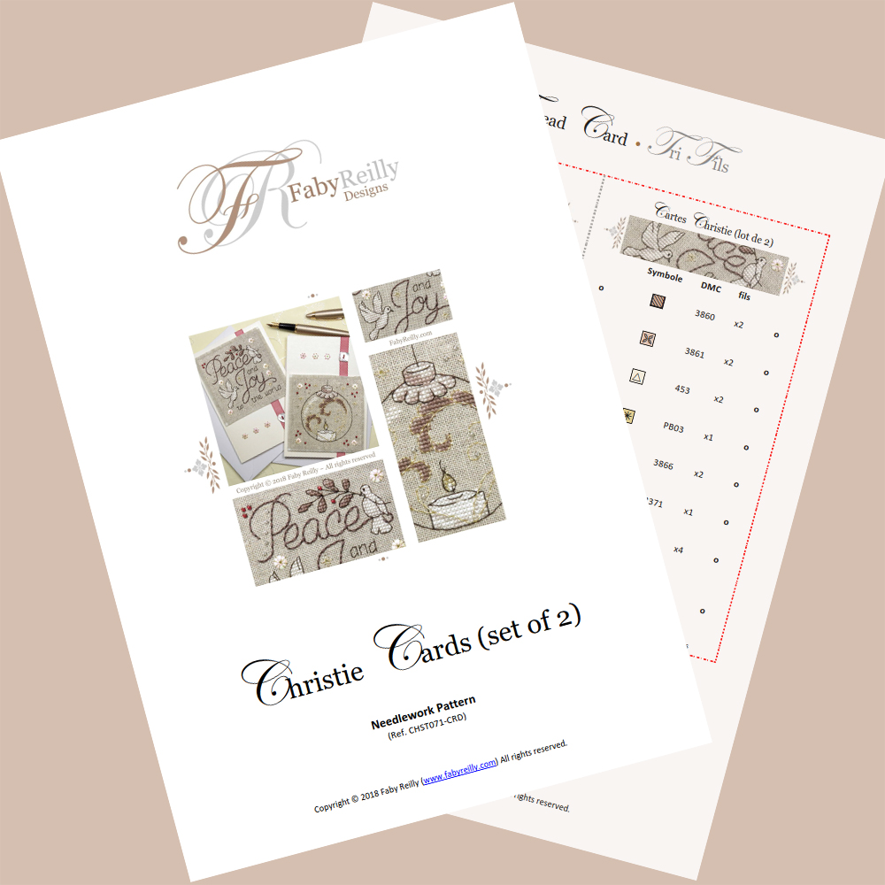 Christie Cards (set of 2) – Faby Reilly Designs