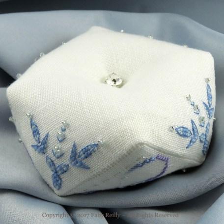 Snowflake Biscornu – Faby Reilly Designs