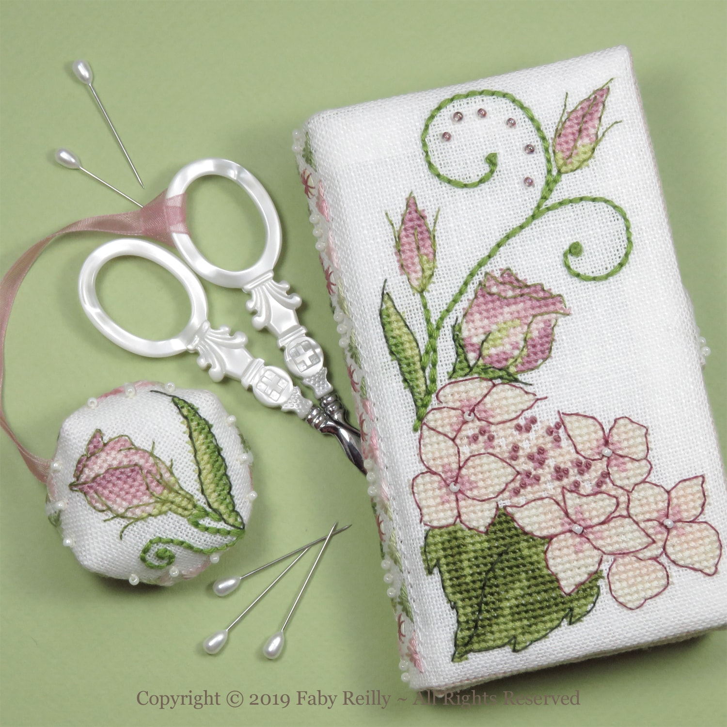 brand new f09d7 4d885 Lizzie Stitching Wallet - Faby Reilly Designs