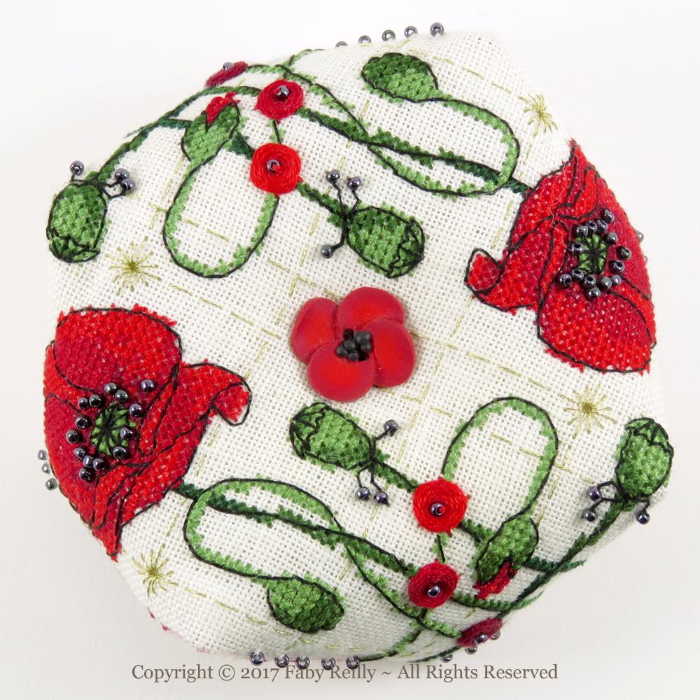 Poppy Biscornu