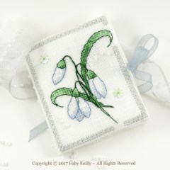 Snowdrop Needlebook - Faby Reilly Designs