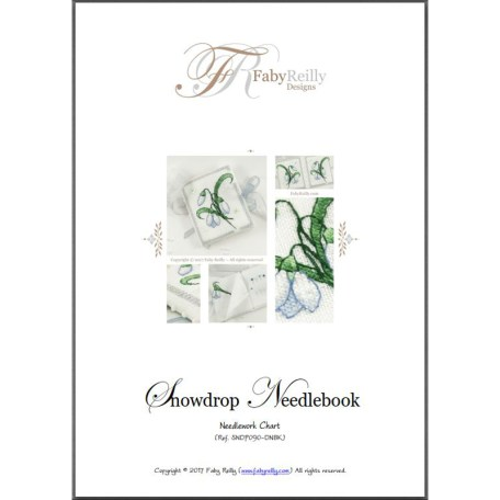 Snowdrop Needlebook – Faby Reilly Designs