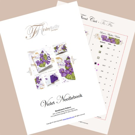 Violet Needlebook – Faby Reilly Designs