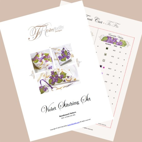 Violet Stitching Set – Faby Reilly Designs
