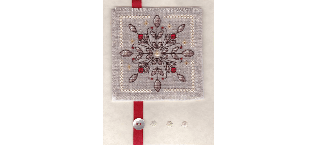 Christie SAL Snowflake - stitched by Emily