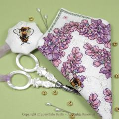 Lilac Scissor Case - Faby Reilly Designs