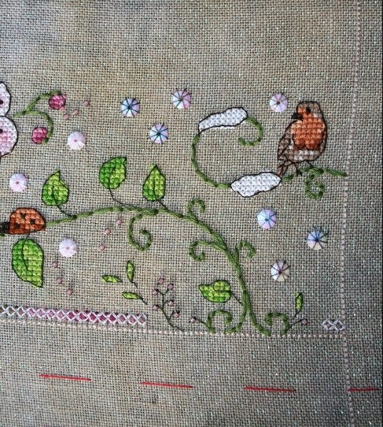 stitched by Kathy