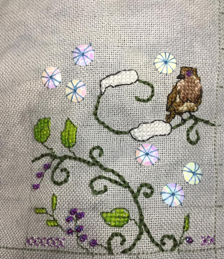 stitched by Wendy