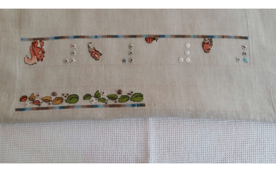 stitched by Louise