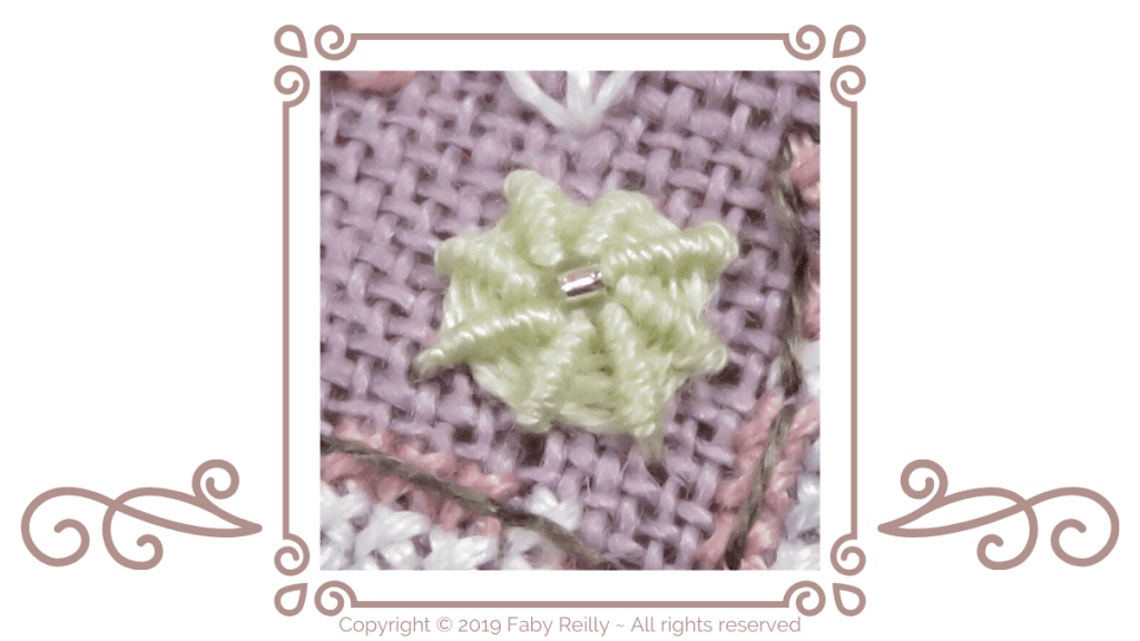 Ribbed Spiderweb stitch Tutorial