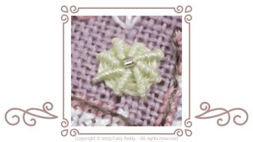 Ribbed Spiderweb stitch