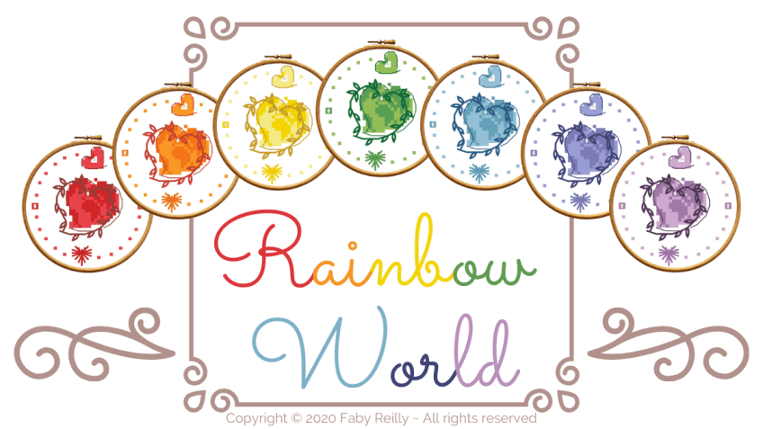 Rainbow World ♥ Freebie