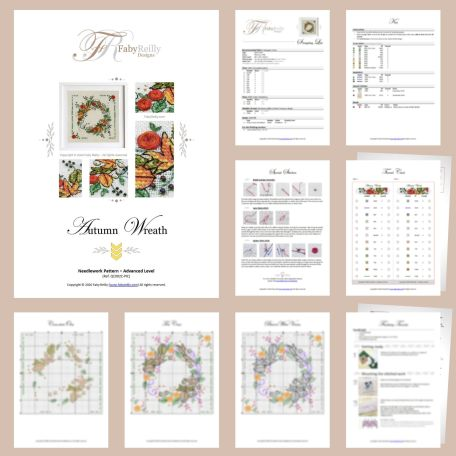 Couronne Automne Sample Pages – Faby Reilly Designs