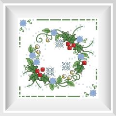 Winter Wreath - Faby Reilly Designs
