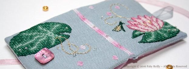 Pink Lotus Needlebook