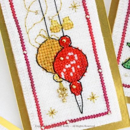 Etiquettes de Noël (série noël traditionnel)