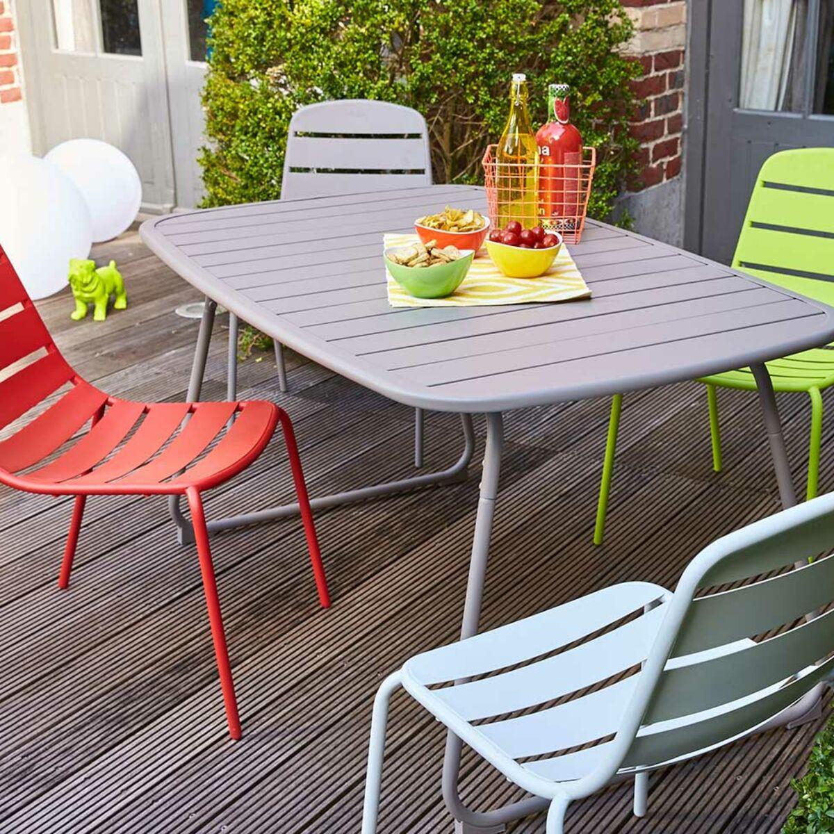 mobilier de jardin carrefour la