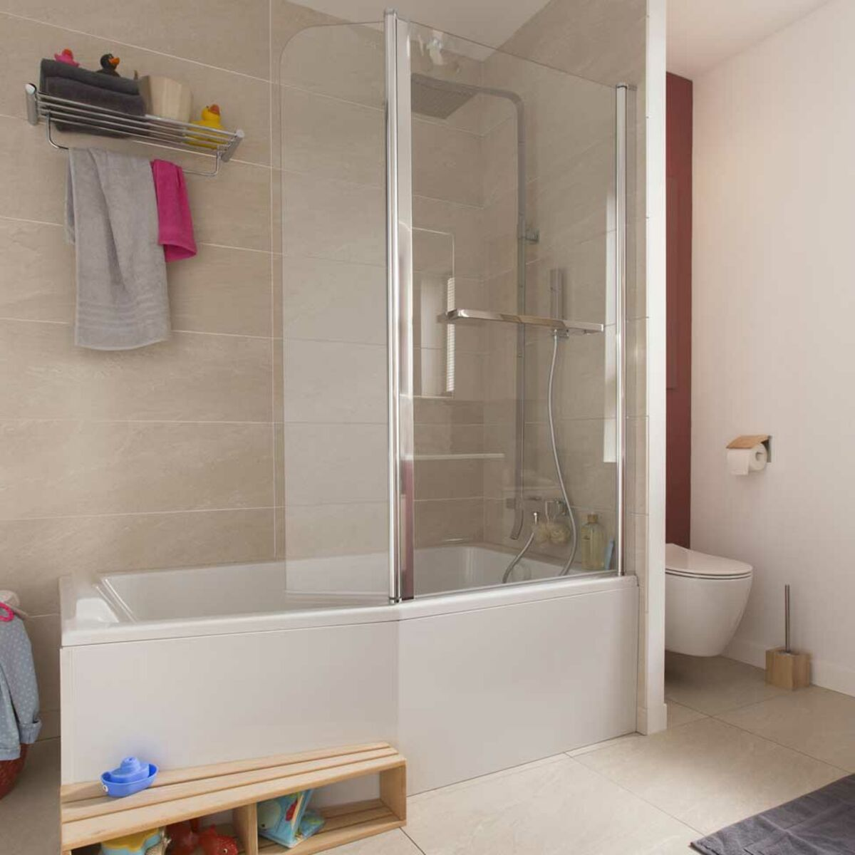 baignoire douche le 2 en 1 dans la
