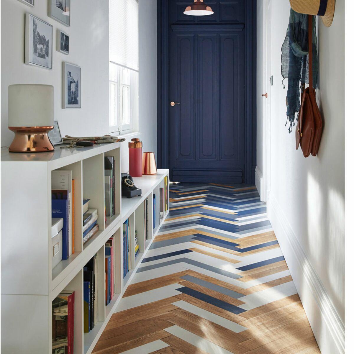 pour agrandir visuellement un couloir