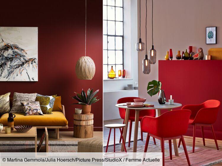 salon rouge 5 idees de decoration et
