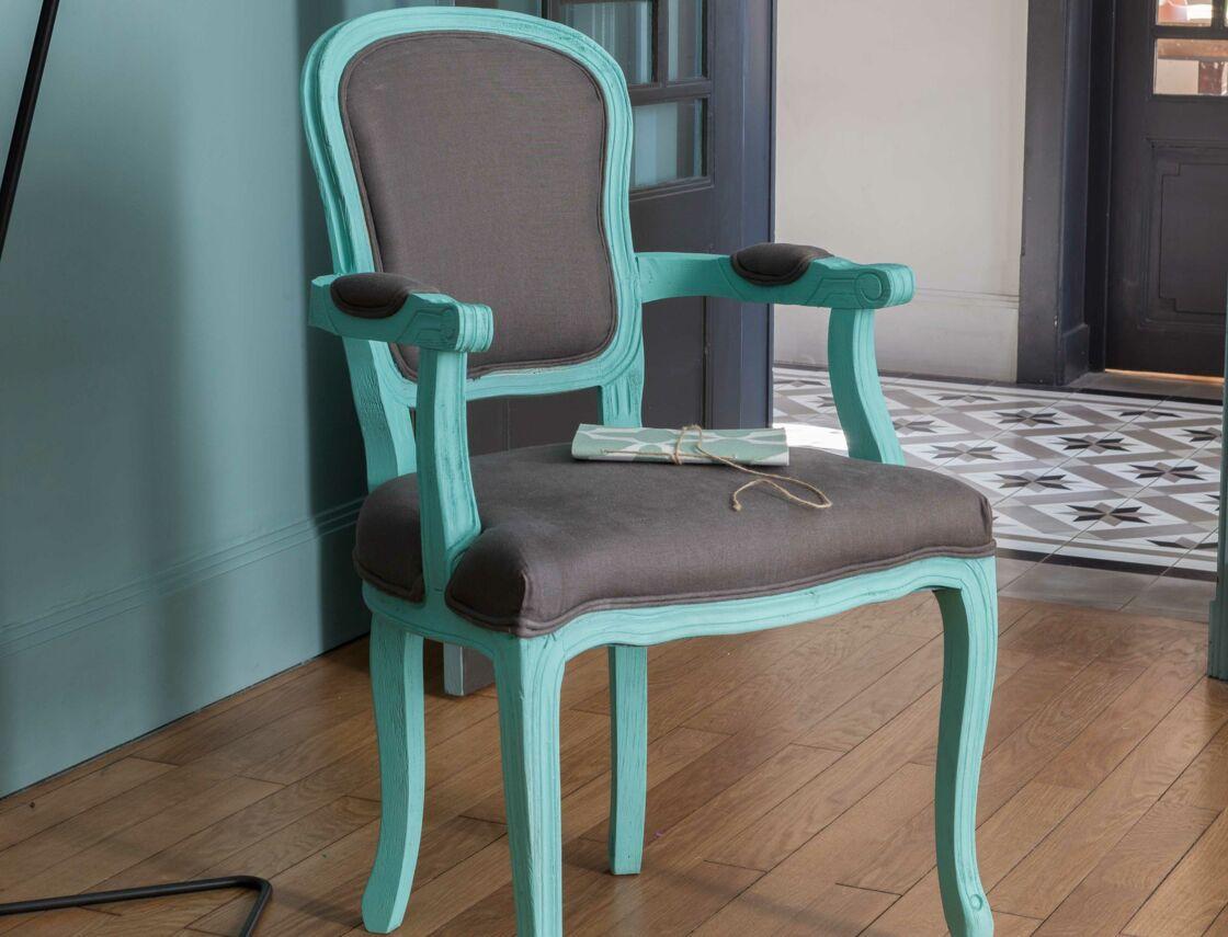 peinture comment relooker un fauteuil