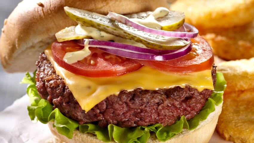 hamburger a l americaine