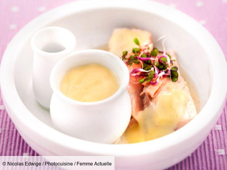saumon sauce hollandaise au thermomix