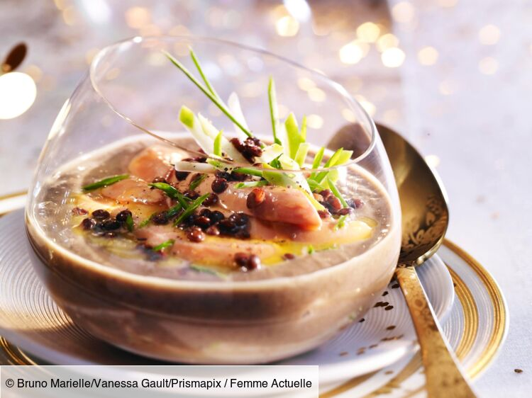 super recettes de verrines de foie gras