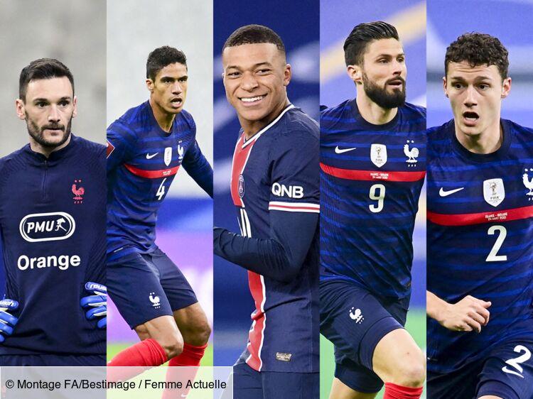 Équipe De France Euro 2021 . Euro 2021 Qui Sont Les Femmes Des Footballeurs De L Equipe De France Photos Femme Actuelle Le Mag