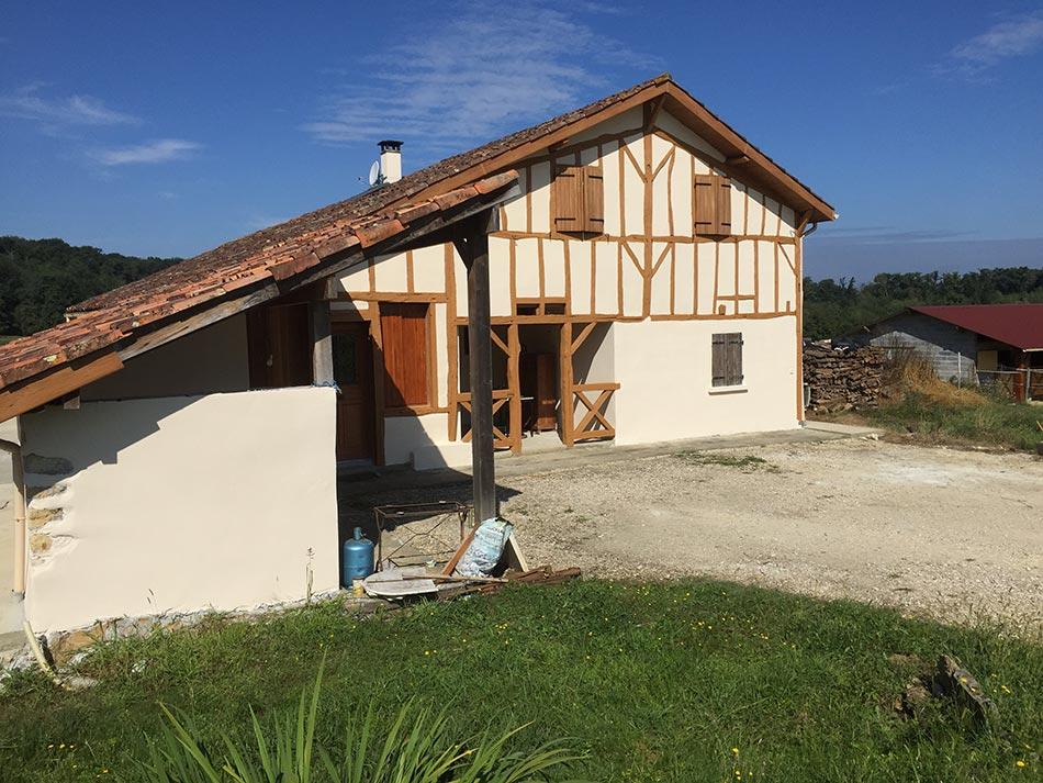 Renovation Maison Landaise. R Novation Ferme Landaise